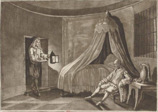 [L'homme au masque de fer] Théorie la plus admise : un frère clandestin du roi Louis XIV